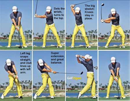 Camilo Villegas Golf Swing